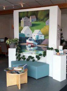 Carolyn Caldwell Paintings at The Island Agency